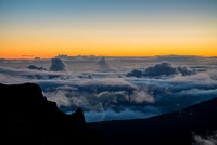Stunningly colorful Haleakala Sunrise