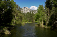 Half Dome and the Merced