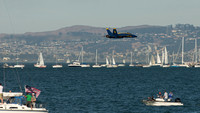 Blue Angels perform at SF Fleet Week 2016
